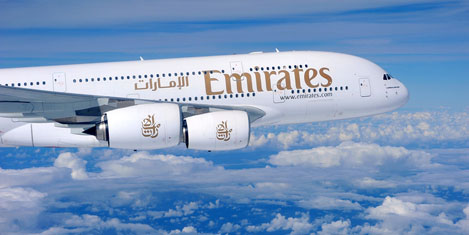 Emirates, New York'a A380 ile