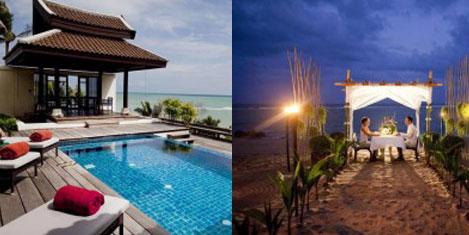 Özel havuzlu ve duvarlı oteller