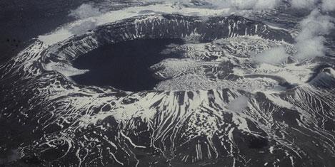 Nemrut volkanı aktif çıktı