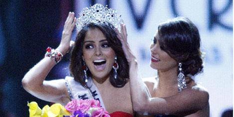 Meksikalı, 'Kâinat Güzeli' seçildi