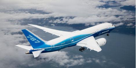 Boeing, 787,2011'de geliyor