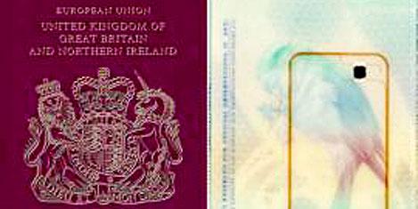 Pasaportlar tanıtımda kullanılıyor