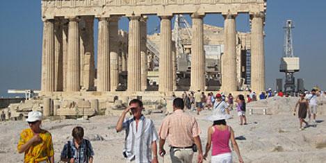 Yunanistan turizminde düşüş