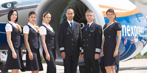 SunExpress'in yeni üniformaları