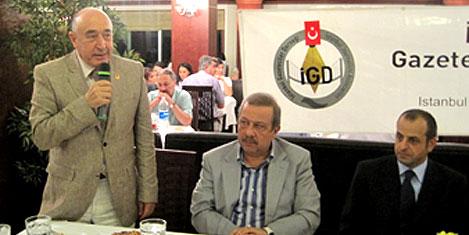 İGD iftarında gazeteciler buluştu