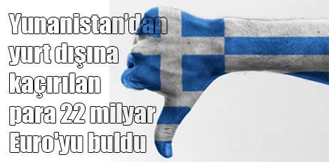 Yunanlılar yurtdışına para kaçırdı