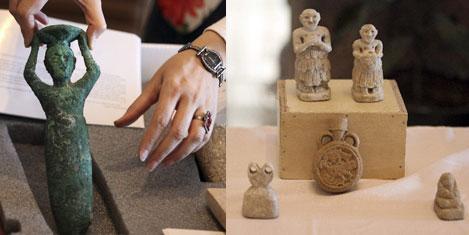 Tarihi eserler Irak'a geri getirildi