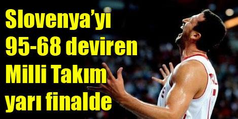 12 Dev Adam FIBA'da yarı finalde