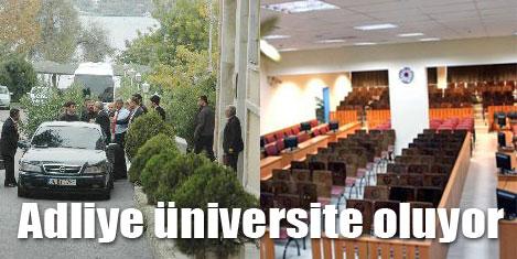İstanbul Adliyesi, üniversite olacak