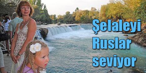 Manavgat'ın gözdesi Ruslar