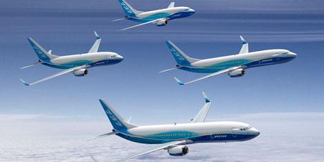 Boeing'e haftada 30 uçak siparişi