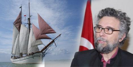 Hulda gemisi İstanbul'a geldi