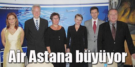 Air Astana, büyüyen havayolu