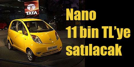 En ucuz otomobil Nano geliyor