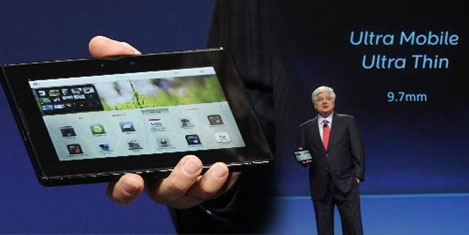 Blackberry'den PlayBook