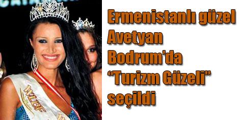 Bodrum'a Ermeni turizm güzeli