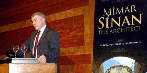 Londra'da Mimar Sinan'ı anıldı