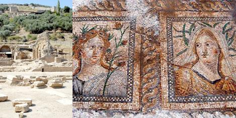Metropolis'te 2 bin yıllık mozaikler
