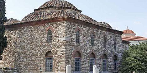 Atina'daki Fethiye Camii'ne restore