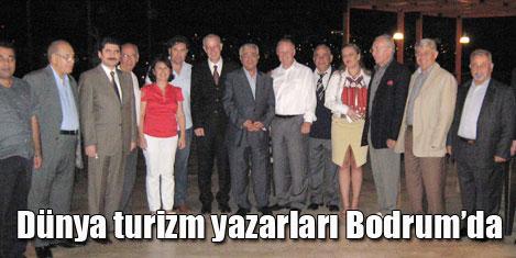 FİJET üyeleri Bodrum'da coştu