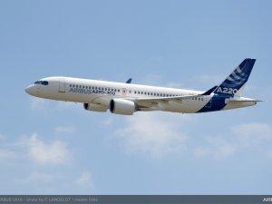 Airbus,  yeni A220-100 ve A220-300uçaklarını tanıttı