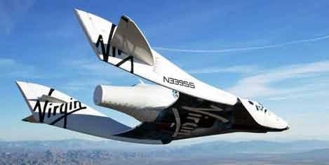 Uzay yolcu gemisi 25 dk uçtu