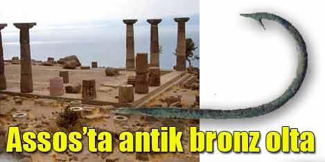 2300 yıllık bronz olta iğnesi