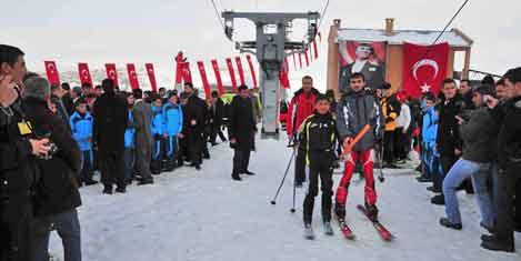 Kış turizminde yeni projeler tamam
