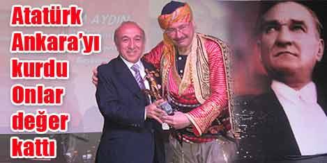Turizm ödülü Seçim Aydın'a