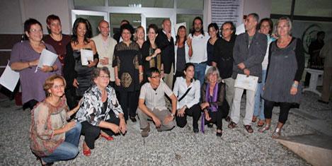 Sanatçılar Teos Marina'da buluştu
