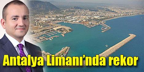 """Antalya Limanı'nda """"Global"""" rekor"""