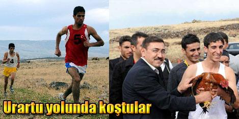 Tanıtım için Urartu yolunda koşu