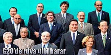 G-20'de IMF reformu için uzlaştılar