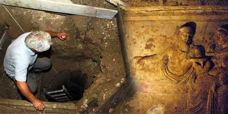 Milas'ta yeni tarihi eserler bulundu