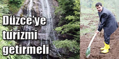Şahin'in doğa turizmi ideali