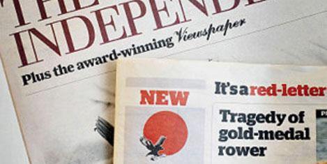 İngiltere'nin yeni gazetesi: 'I'