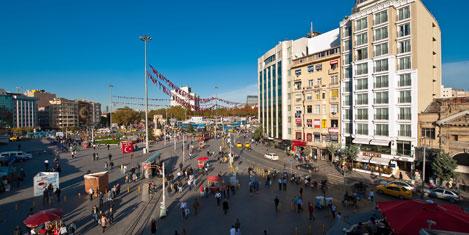CVK Hotels Taksim hizmete girdi