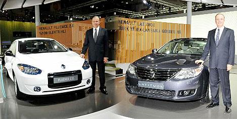 Auto Show'da elektrikli Renault'lar