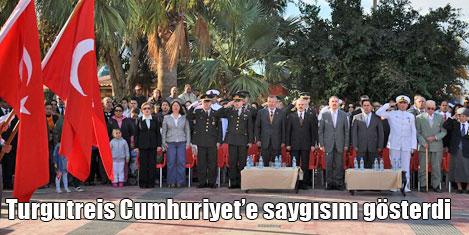 Turgutreis'te Cumhuriyet Bayramı