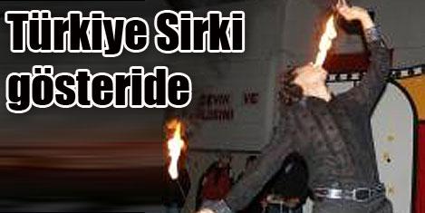 Türkiye Sirki'nin Gelibolu gösterisi