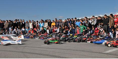 500 Modelci  F1 pistinde buluştu
