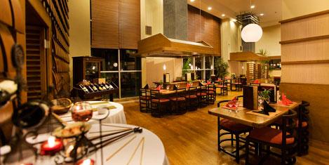 Asiana'da Uzakdoğu mutfağı