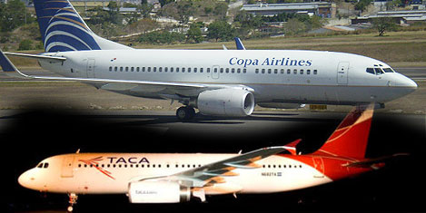 Avianca-Taca and Copa Airlines