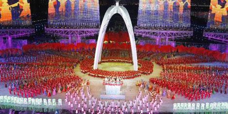 16. Asya Oyunları Çin'de başladı