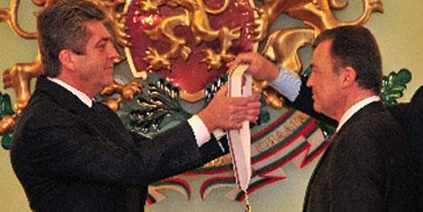 Sofya Büyükelçisine devlet nişanı