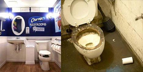 En temiz tuvaleti turist seçecek