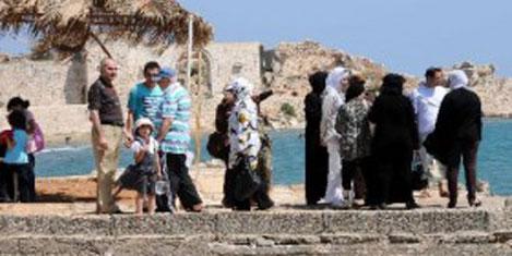 Arap turistler kültürlerini getiriyor