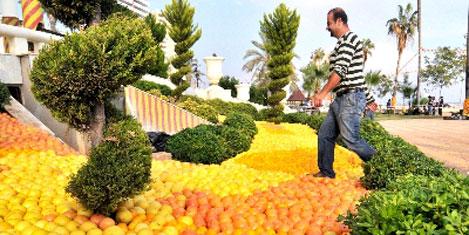 """Mersin'de """"Narenciye Festivali"""""""
