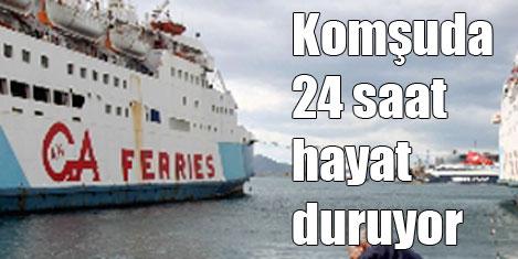 Yunanistan'da turizmciler grevde
