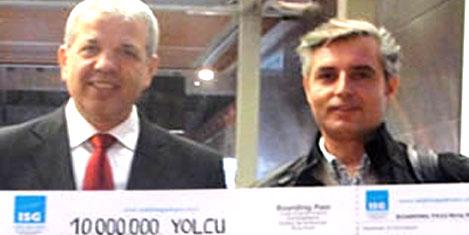 ISG'nin 10 milyonuncu yolcusu